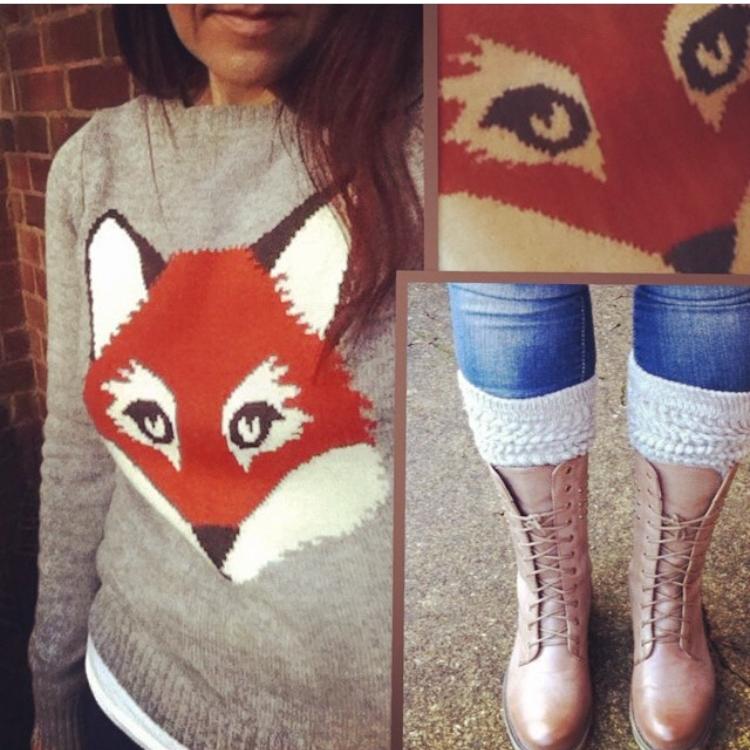 blueskygirlie in new look fox jumper outfit playsuit via always a blue sky girl blog