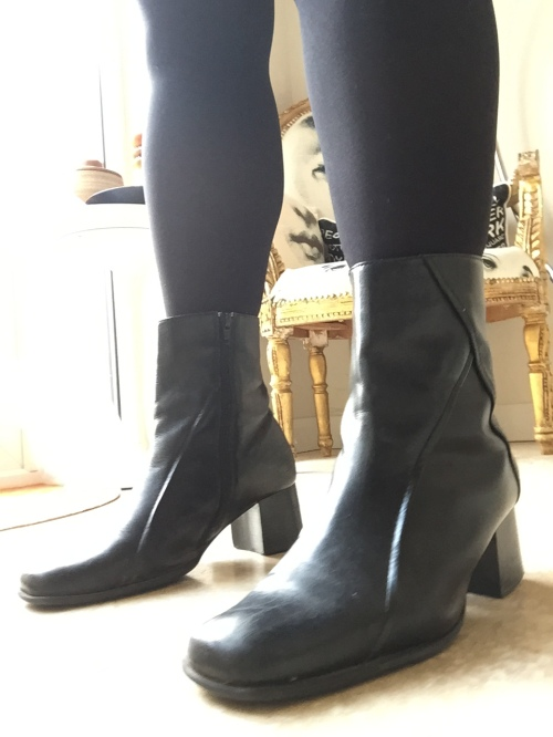 blueskygirlie in Next ankle boots via always a blue sky girl blog