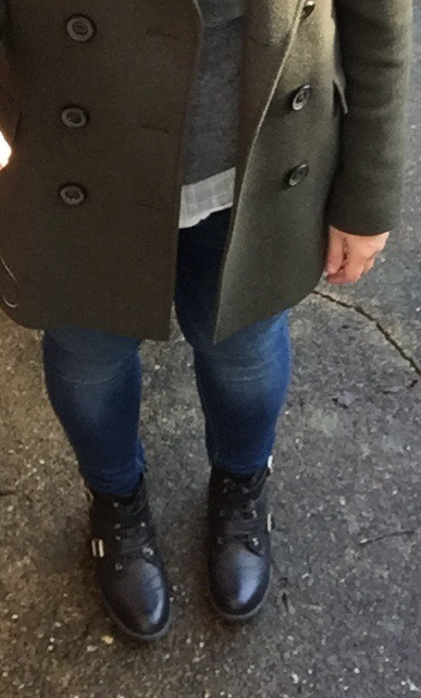 blueskygirlie in Jigsaw jacket winter layering look via Always a Blue Sky Girl blog