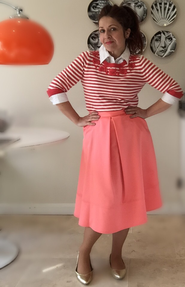 coral preppy spring primark & per una look 4 via Always a Blue Sky Girl blog