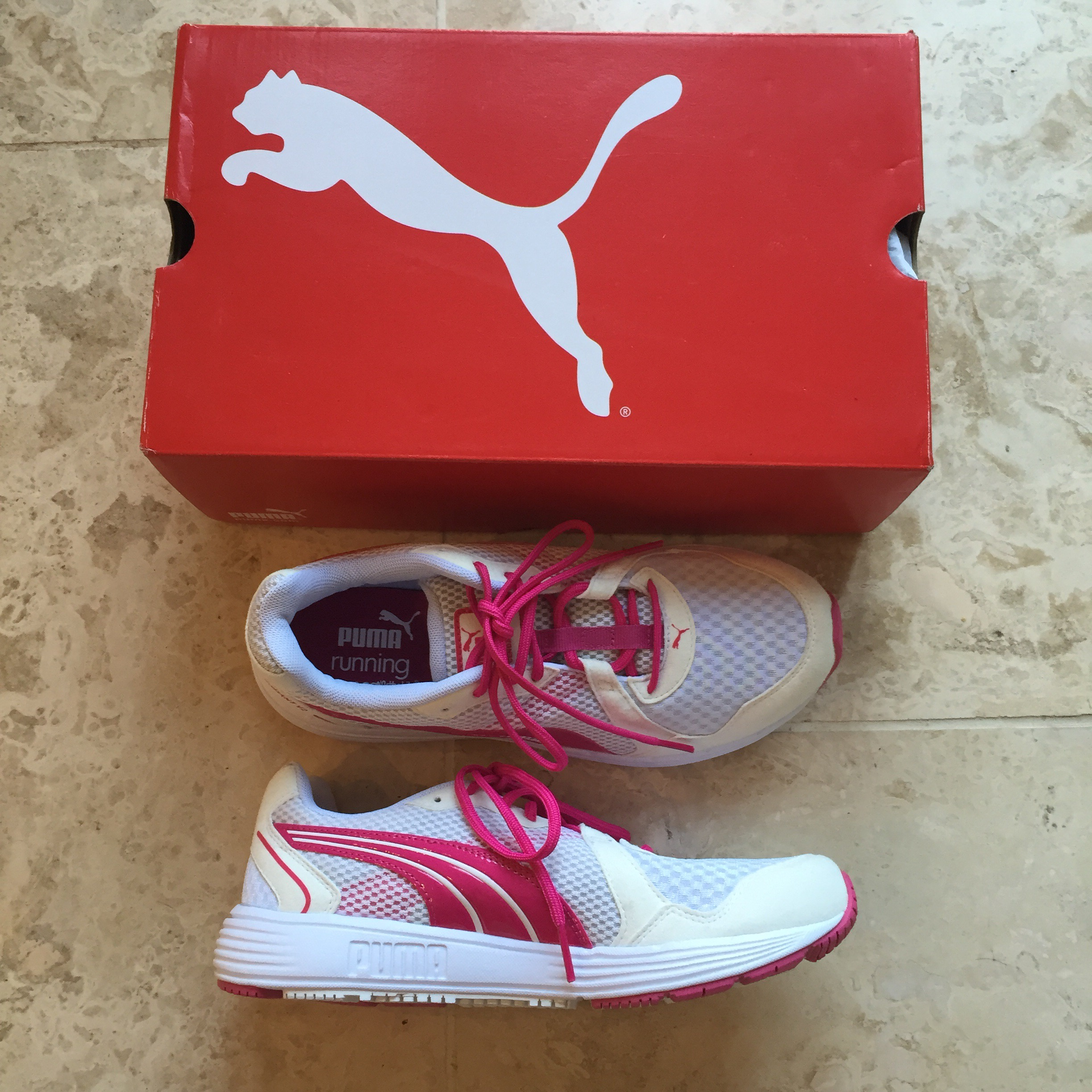 Puma Descendent trainers via blueskygirlie at Always a Blue Sky Girl blog