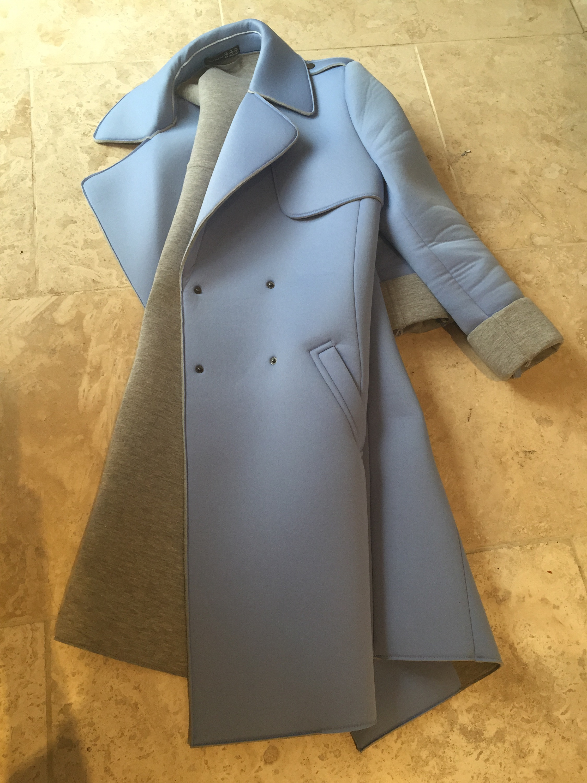 Primark Atmosphere  scubs fabric tench coat #ootd via Always a Blue Sky Girl blog