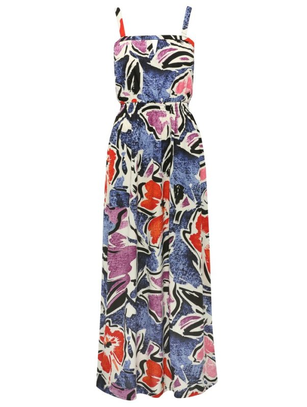 M&Co petite maxi dress via Always a Blue Sky Girl blog