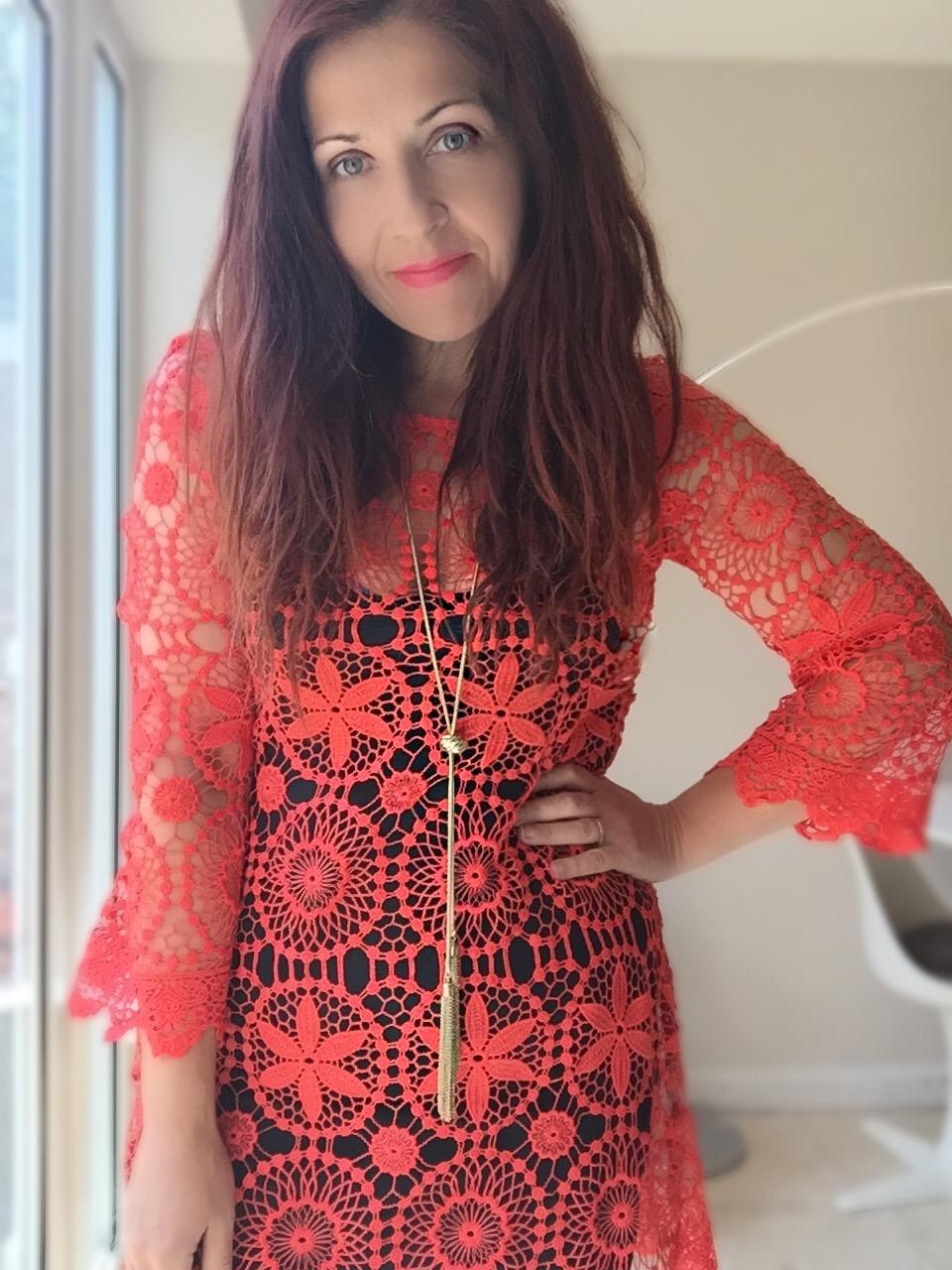 HandM loves Coachella lace dress via Always a blue Sky girl fashion blog