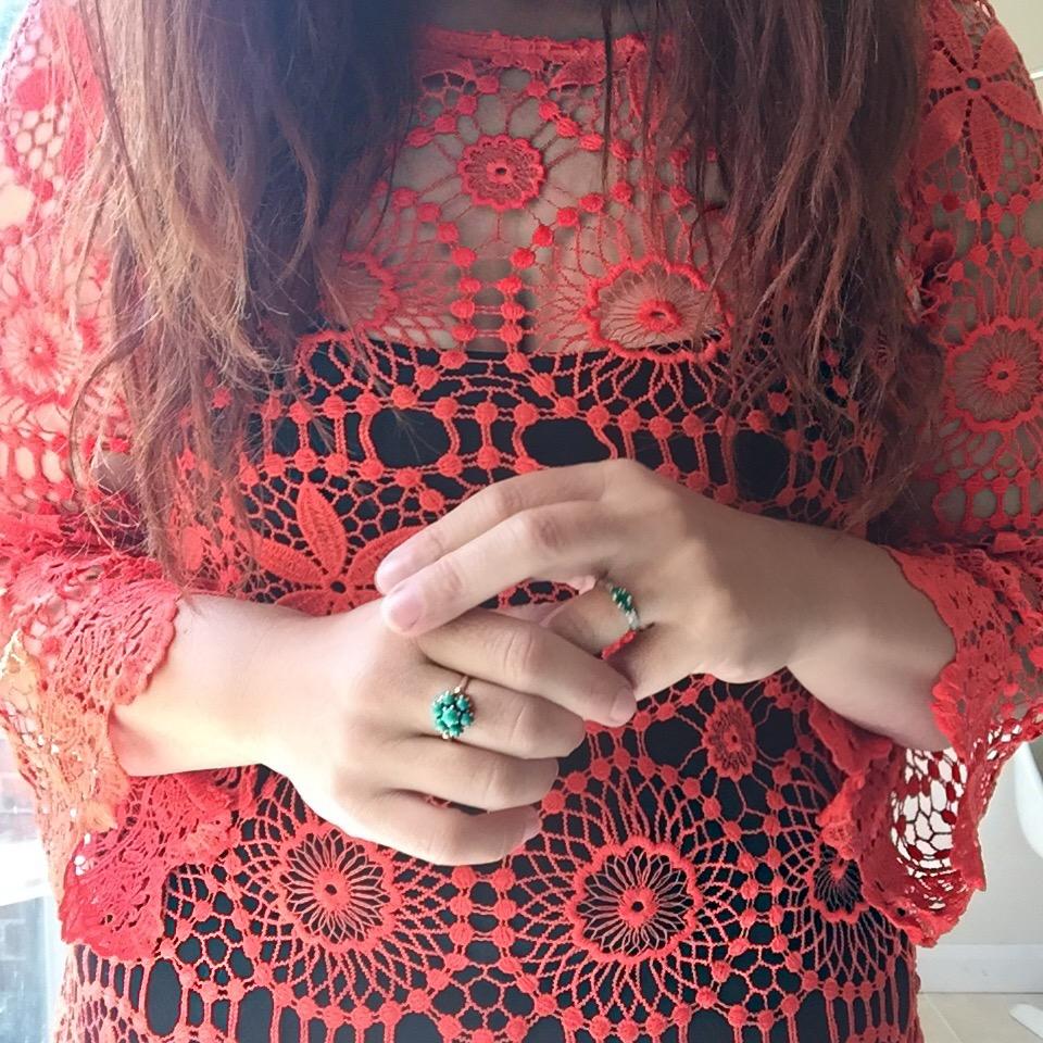 handM coachella crichet dress via always a blue sky girl fashion blog