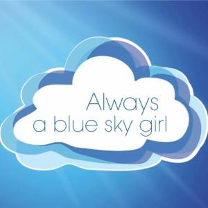 always a blue sky girl blog logo