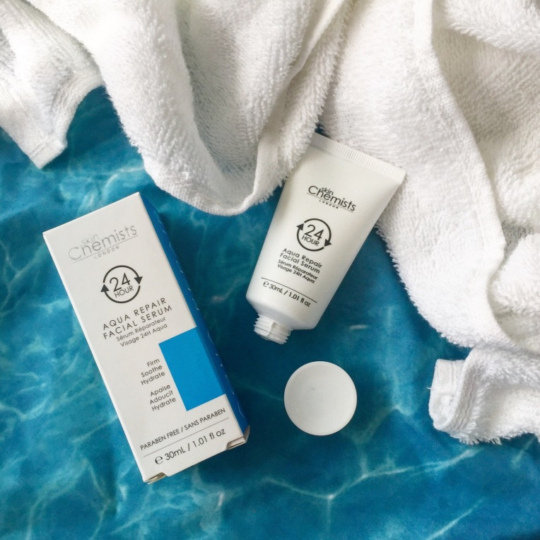 Skin Chemists 24hr Aqua Repair Facial Serum via Always a Blue Sky girl beauty fashion blog